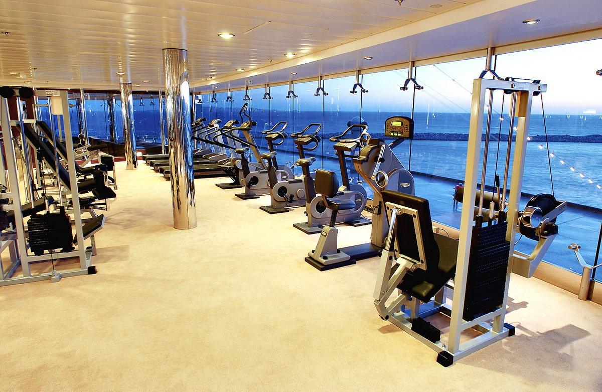 Cómo mantenerse en forma a bordo de un crucero