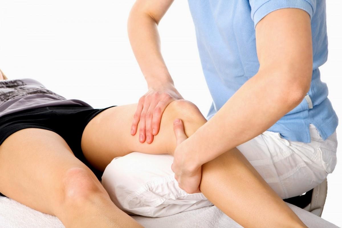 como curar torcedura de rodilla